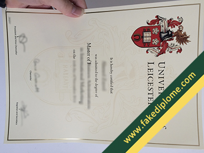 fake University of Leicester diploma, University of Leicester fake degree