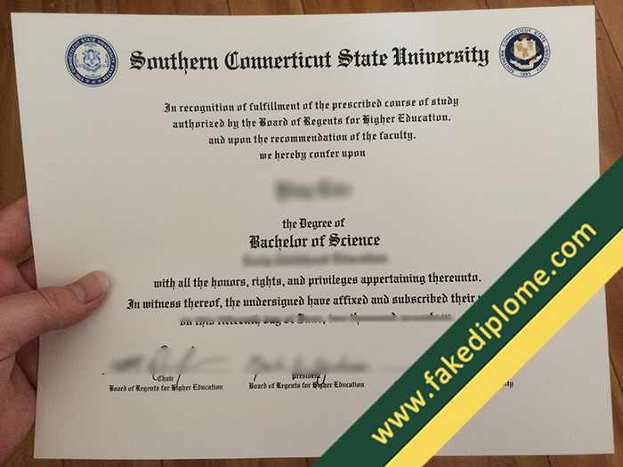 fake Southern Connecticut State University diploma, Southern Connecticut State University fake degree, fake Southern Connecticut State University certificate