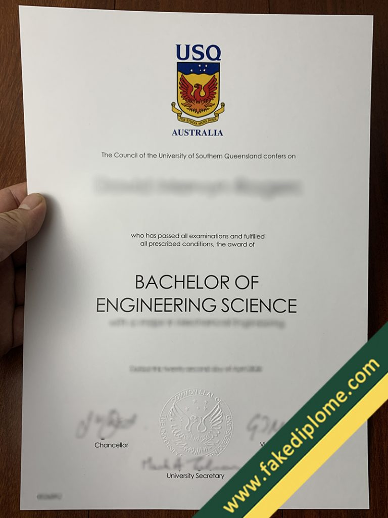 fake University of Southern Queensland diploma, University of Southern Queensland fake degree, fake University of Southern Queensland certificate