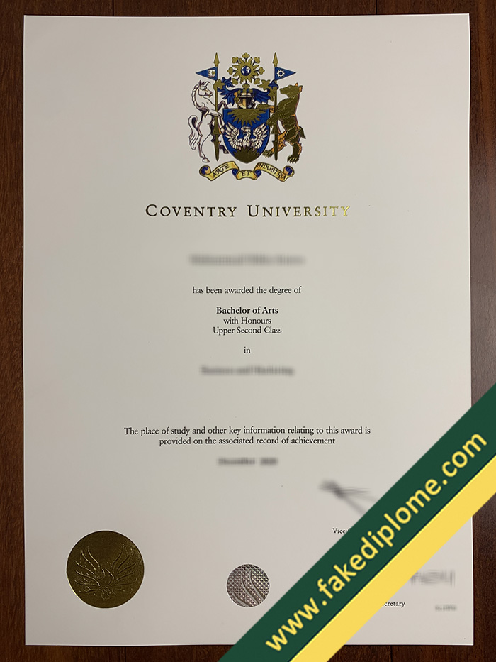 fake Coventry University diploma, Coventry University fake degree, Coventry University fake certificate